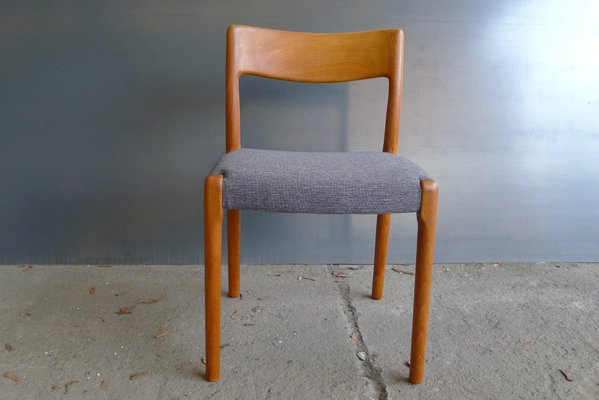 Mid Century Danish Chairs From Emc Mobler Set Of 2 For Sale At Pamono