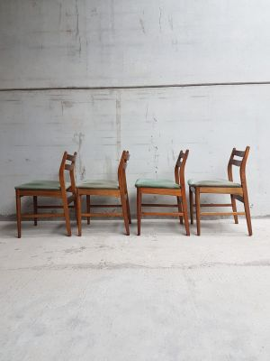 66073a3ef9ff Vintage Danish Teak Dining Chairs