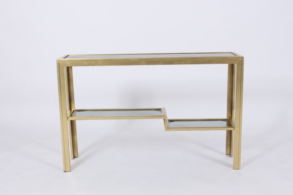 finest selection 336d7 f4690 Vintage 2-Tier Narrow Console Table, 1970s