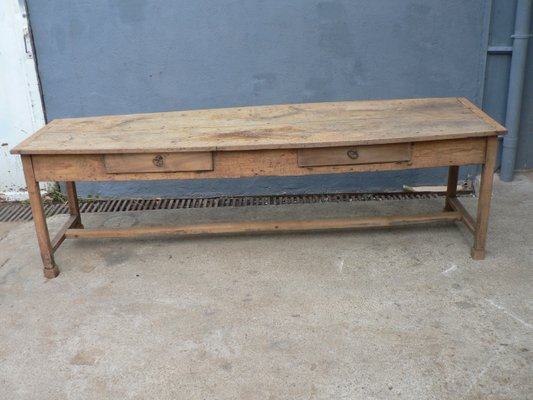 Antique Farmhouse Table For Sale At Pamono