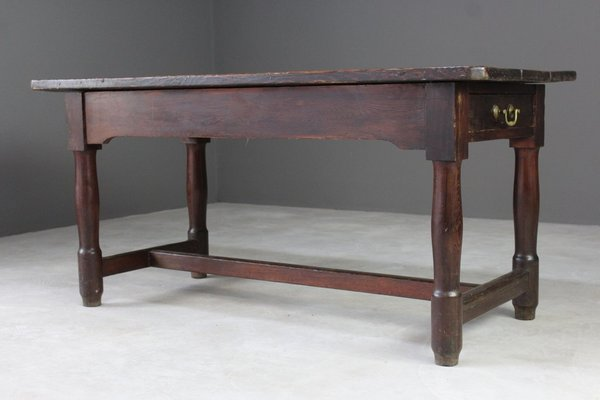 Continental Pine Refectory Table