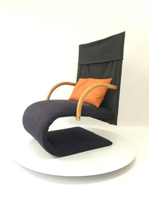 Charmant French Zen Chair By Claude Brisson For Ligne Roset, 1980s