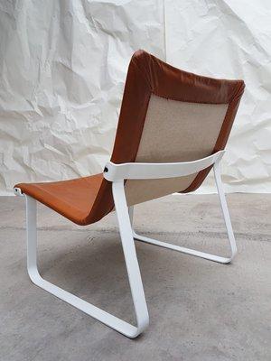 Remarkable Mid Century Danish Steel Leather Sling Chair 1970S Uwap Interior Chair Design Uwaporg