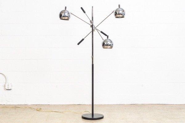 new product 559ec 8e017 Vintage Three-Orb Floor Lamp, 1970s