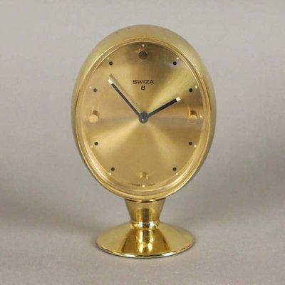 b171ff4a7933 Reloj despertador de latón de Swiza 8