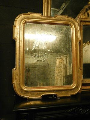 c12e5887d31 Antique Gold Framed Mirror with Bas-Reliefs 1