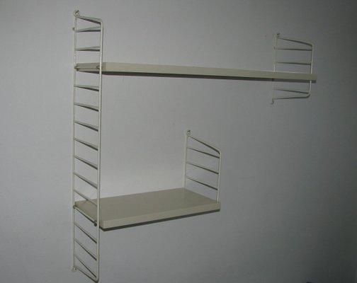 String Shelf Nisse Wall Shelf 1960s 70s Shelf System 3 Other Antique Furniture