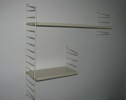 String Shelf Nisse Wall Shelf 1960s 70s Shelf System 3 Antique Furniture