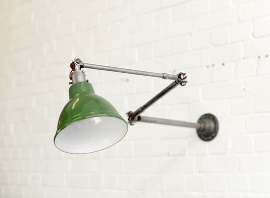 Wall Mounted Task Lamp From Dugdills 1920s