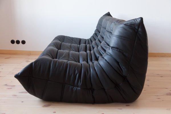 Prime Vintage Black Leather 3 Seater Togo Sofa By Michel Ducaroy For Ligne Roset Inzonedesignstudio Interior Chair Design Inzonedesignstudiocom