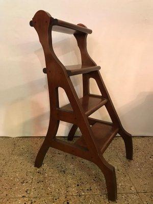 Peachy Library Step Ladder 1980S Beatyapartments Chair Design Images Beatyapartmentscom