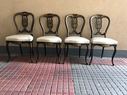 Sedie Ottocento Francese : Sedie francia xix secolo set di in vendita su pamono
