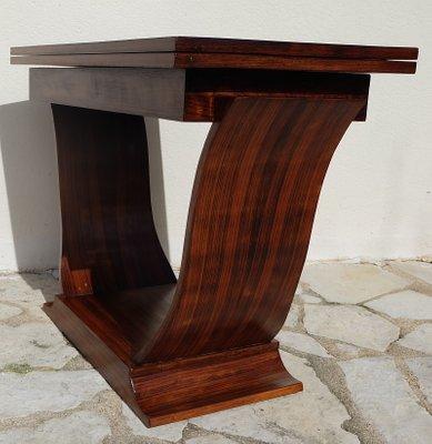 Extensible Rio1930s Palissandre De En Console Table Art Déco c354qRAjL
