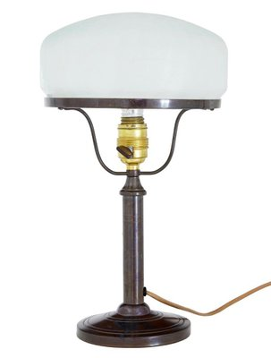Table Lamp With Frosted Gl Shade