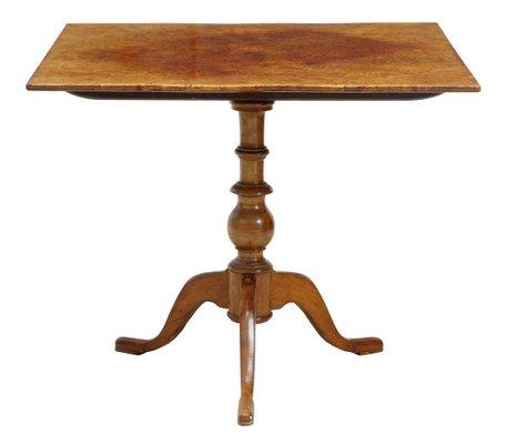 Tavolo Quadrato Antico Allungabile.Tavolo Quadrato Antico Con Ripiano Ribaltabile In Vendita Su Pamono