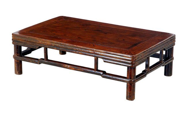 Marvelous 19Th Century Chinese Elm Low Table Andrewgaddart Wooden Chair Designs For Living Room Andrewgaddartcom