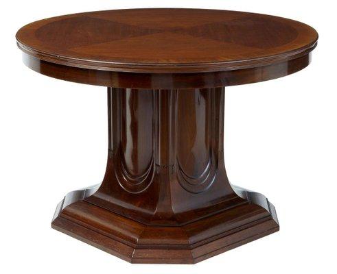 19th Century Mahogany Pedestal Base