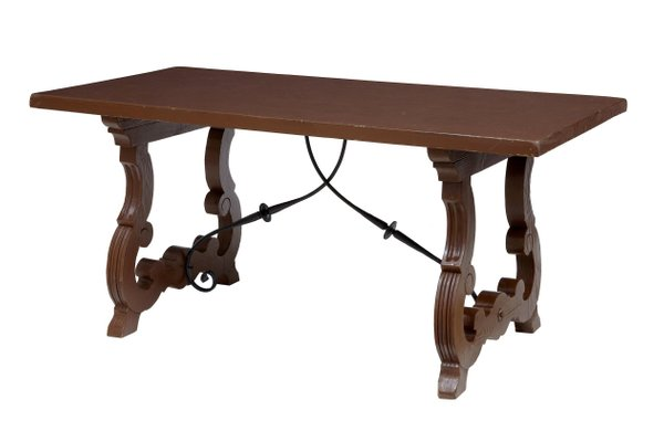 Small Antique Dining Table For Sale At Pamono