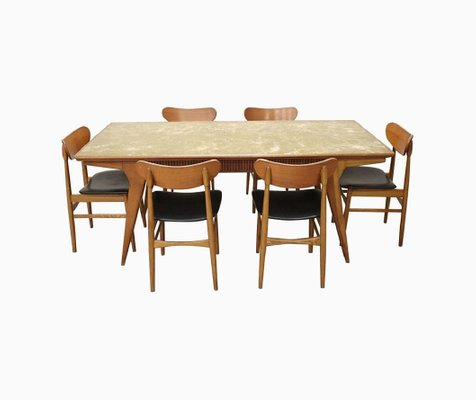 Danish Dining Room Set 1970s