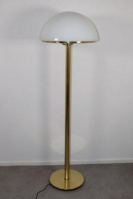 Large Vintage Floor Lamp From Glashütte