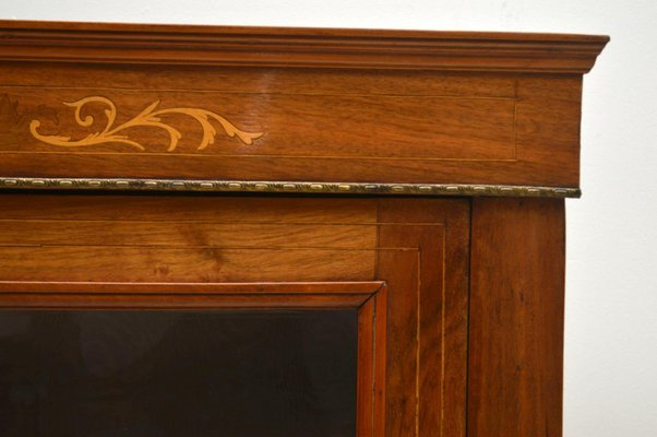Meuble De Rangement Victorien Antique En Noyer