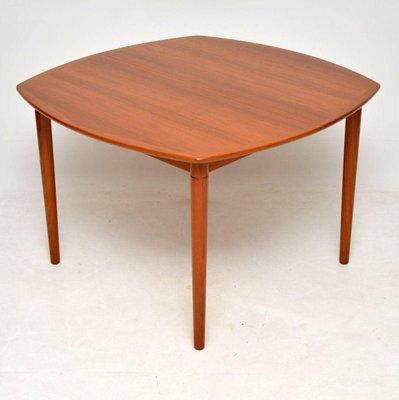 Vintage Teak Dining Table By Gustav Bahus For Rastad Relling