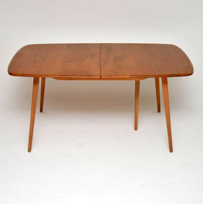 Grand Windsor Elm Dining Table From Ercol 1960s 1