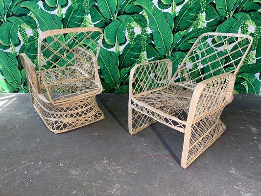 Lounge Chairs By Rus Woodard 1970s