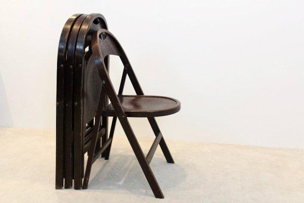 Fauteuil vintage français de bureau Thonet 1930 Design
