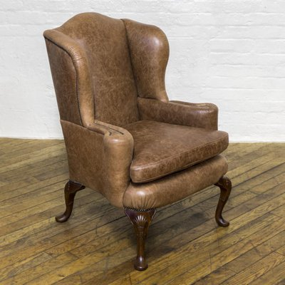 Edwardian Winged Armchair For Sale At Pamono