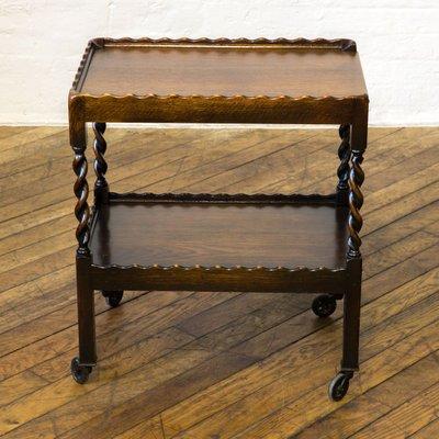 Fabulous Vintage Jacobean Style Oak Tea Trolley Ibusinesslaw Wood Chair Design Ideas Ibusinesslaworg