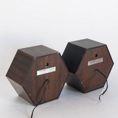 Klangbox 2080 Hi-Fi Speakers from Telefunken, 1970s, Set of 2