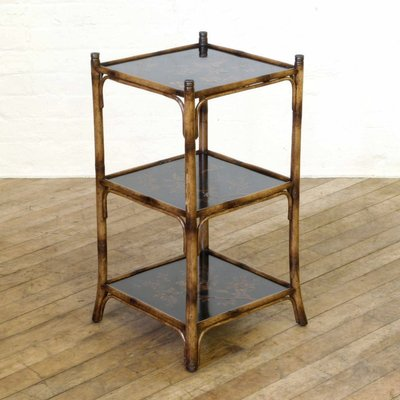 Vintage Bamboo Table From Theodore Alexander