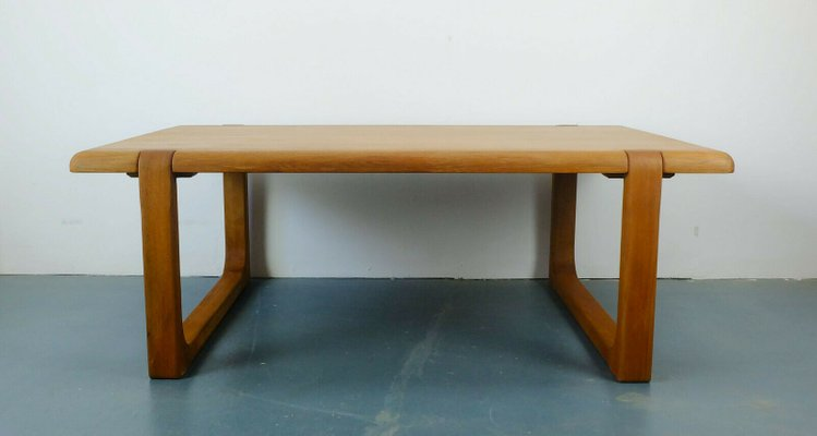 Solid Teak Coffee Table By Niels Bach