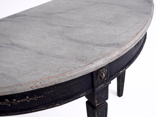 Antique Gustavian Console Tables With