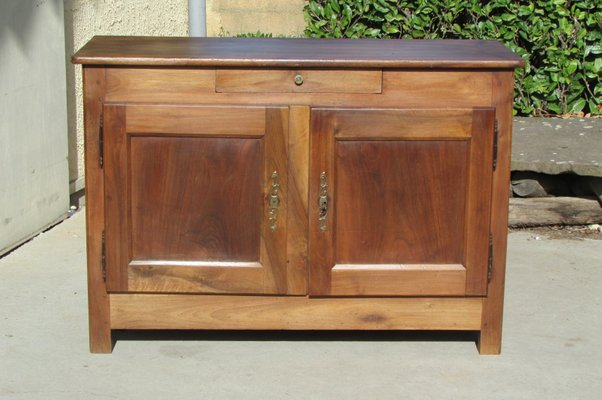 antique 19th century solid walnut buffet for sale at pamono rh pamono com antique walnut carved buffet aldridge antique walnut buffet