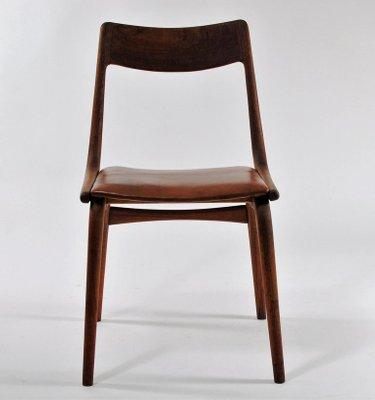 Customizable Vintage Teak Boomerang Chairs by Alfred Christensen for Slagelse Mobelværk, Set of 12