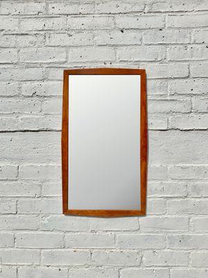 Specchio da parete rettangolare vintage in teak, anni \'60 in vendita ...