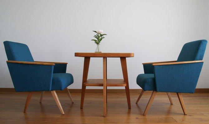 2 Moderne Fauteuils.Fauteuils Moderne Mid Century Minimalistes 1960s Set De 2