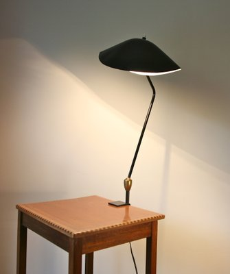 Clamp Lamp With 2 Ball And Socket Joints By Serge Mouille 1958