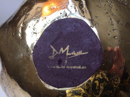 Small Medusa Bowl Sculptor by David Marshall