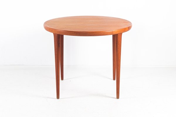 Bon Small Round Table From VV Møbler Sottrup, 1960s