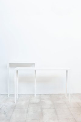 Brilliant Artemis Vii White Console Table By Sander Van Eyck For Cocoon Collectables Machost Co Dining Chair Design Ideas Machostcouk