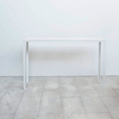 Marvelous Artemis Vii White Console Table By Sander Van Eyck For Cocoon Collectables Machost Co Dining Chair Design Ideas Machostcouk