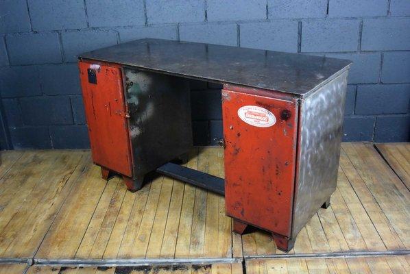 Fantastic Industrial Steel Workbench 1950S Beatyapartments Chair Design Images Beatyapartmentscom