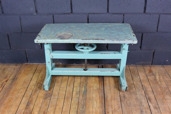 Vintage Industrial Steel Workbench 1970s For Sale At Pamono