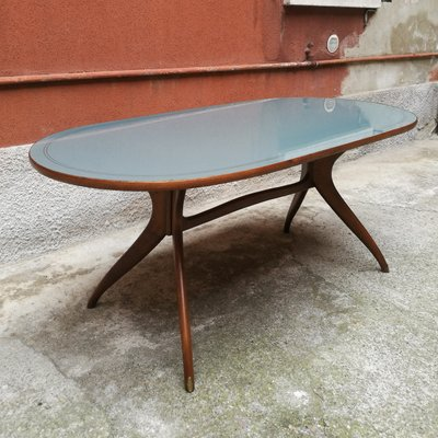 Oval Dining Table, 1950s