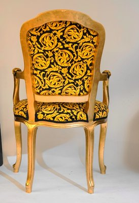 Magnificent Vintage Rococo Style Chairs 1970S Set Of 4 Download Free Architecture Designs Rallybritishbridgeorg