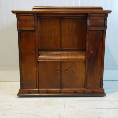 Antique Cabinet With Sewing Machine