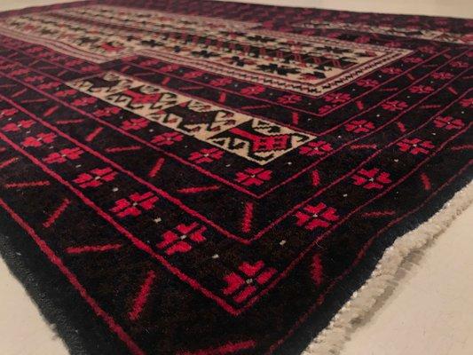 Vintage Afghan Rug, 1950s 2
